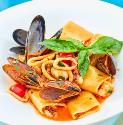 пакері з морепродуктами